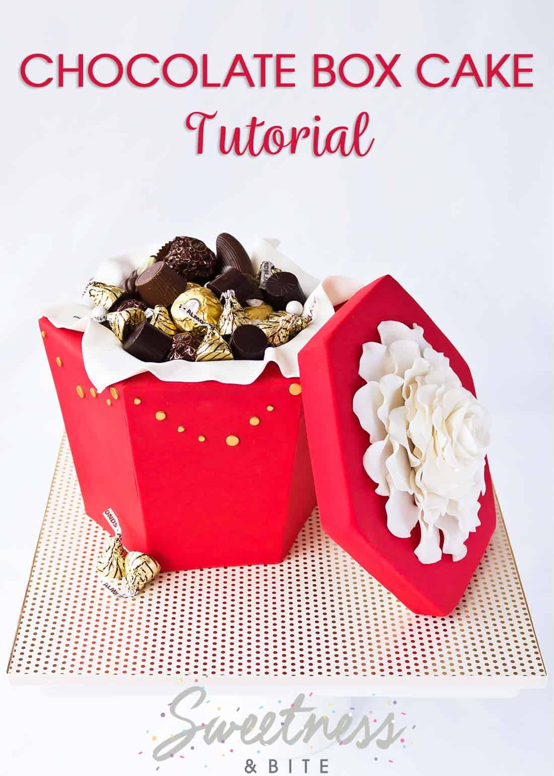 Chocolate Box Cake Tutorial ~ Sweetness & Bite