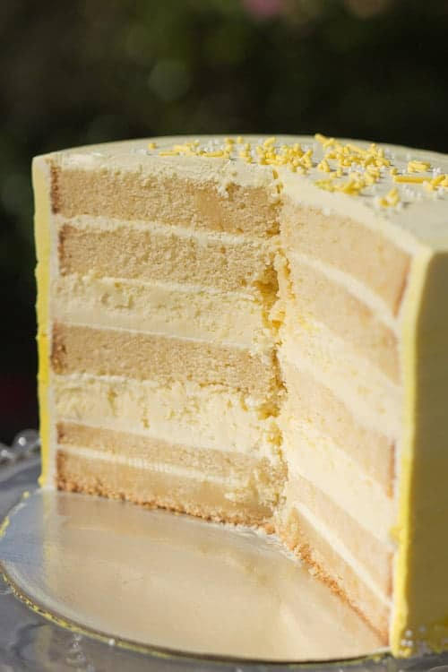 Gluten Free White Cake With Italian Meringue Buttercream Recipes ...
