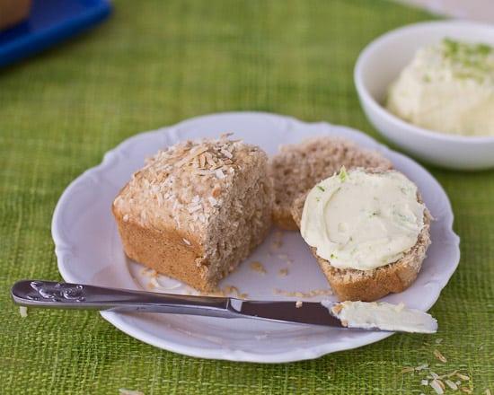 Coconut Bread and mascarpone