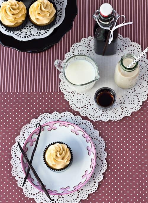 Vanilla Kahlua Cupcakes
