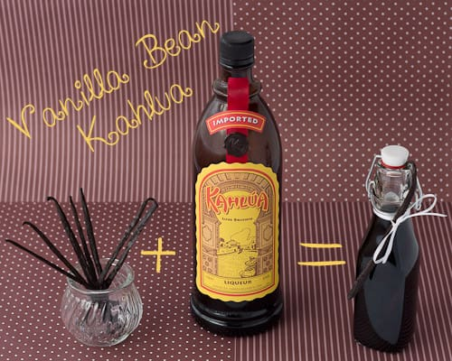 Make Your Own Vanilla Bean Kahlua