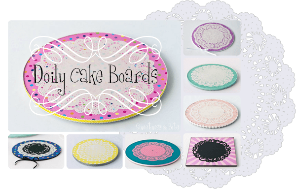 Doily Cake Boards
