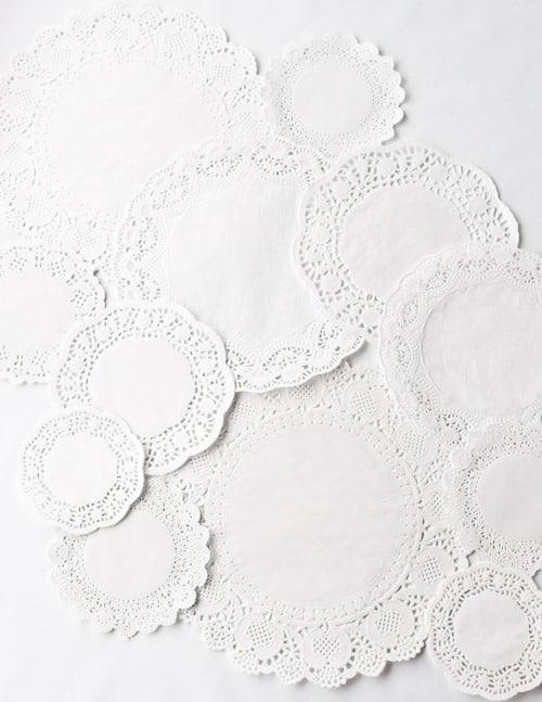 White Doilies