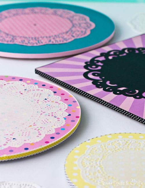 Doily Cake Boards