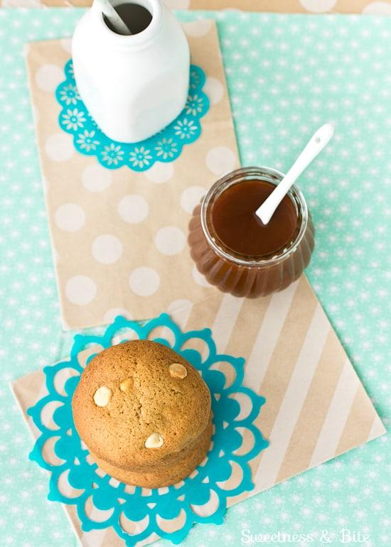 Caramel White Chocolate Chip Cookies