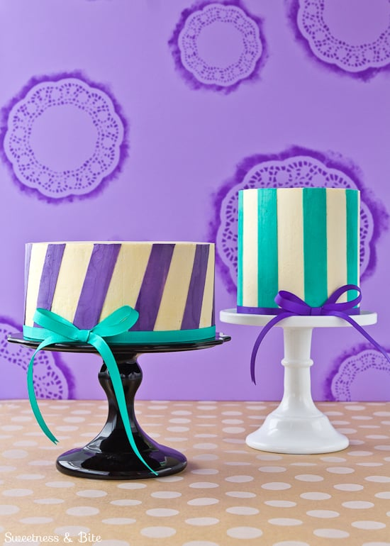 Perfect Buttercream Stripes - Two Ways