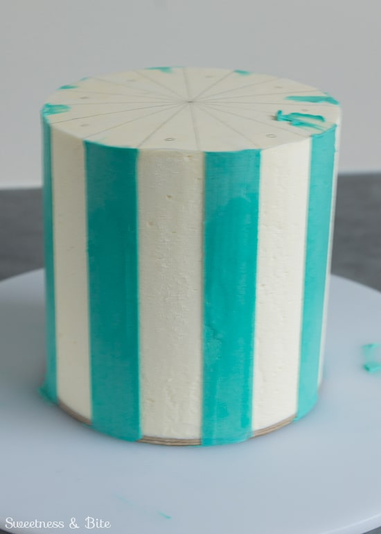 Perfect-Buttercream-Stripes-Almost-Finished
