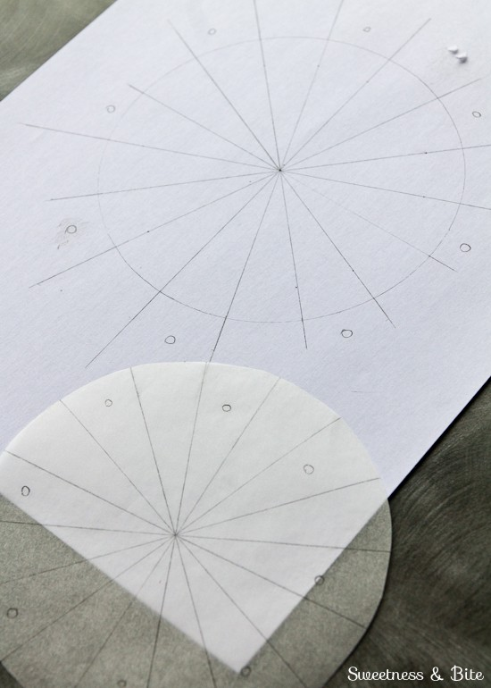 Buttercream Stripes Marking Angles For Even Stripes Guide 3