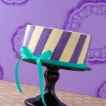 Perfect Buttercream Stripes Tutorial - Diagonal Stripes