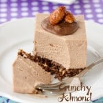Crunchy Almond Toblerone Cheesecake ~ Sweetness and Bite