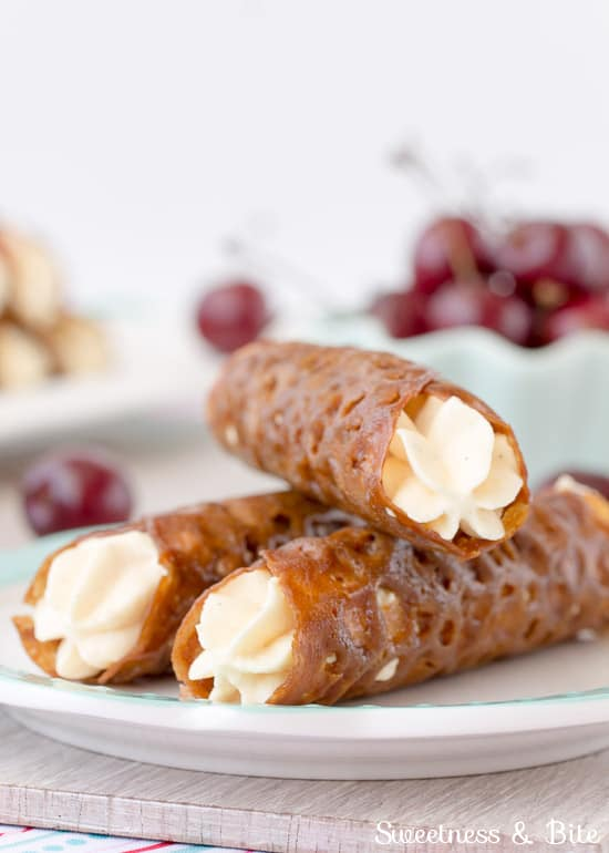Gluten Free Brandy Snaps ~ Sweetness and Bite
