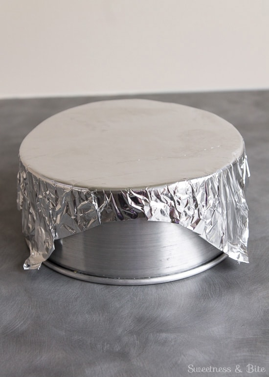 Can I Line A Cake Tin With Foil