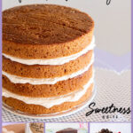Collage of gluten free cakes, text overlay reads