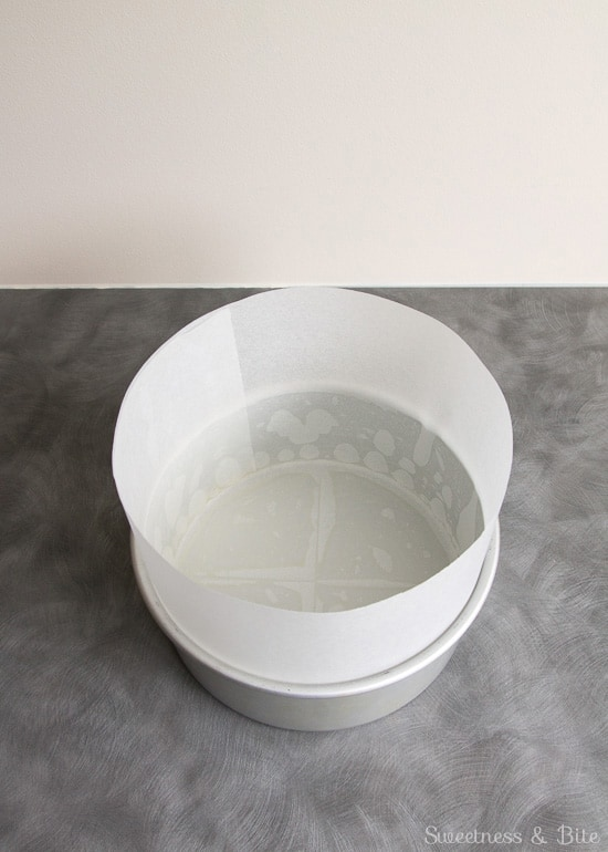 How to Line a Cake Tin ~ Sweetness and Bite