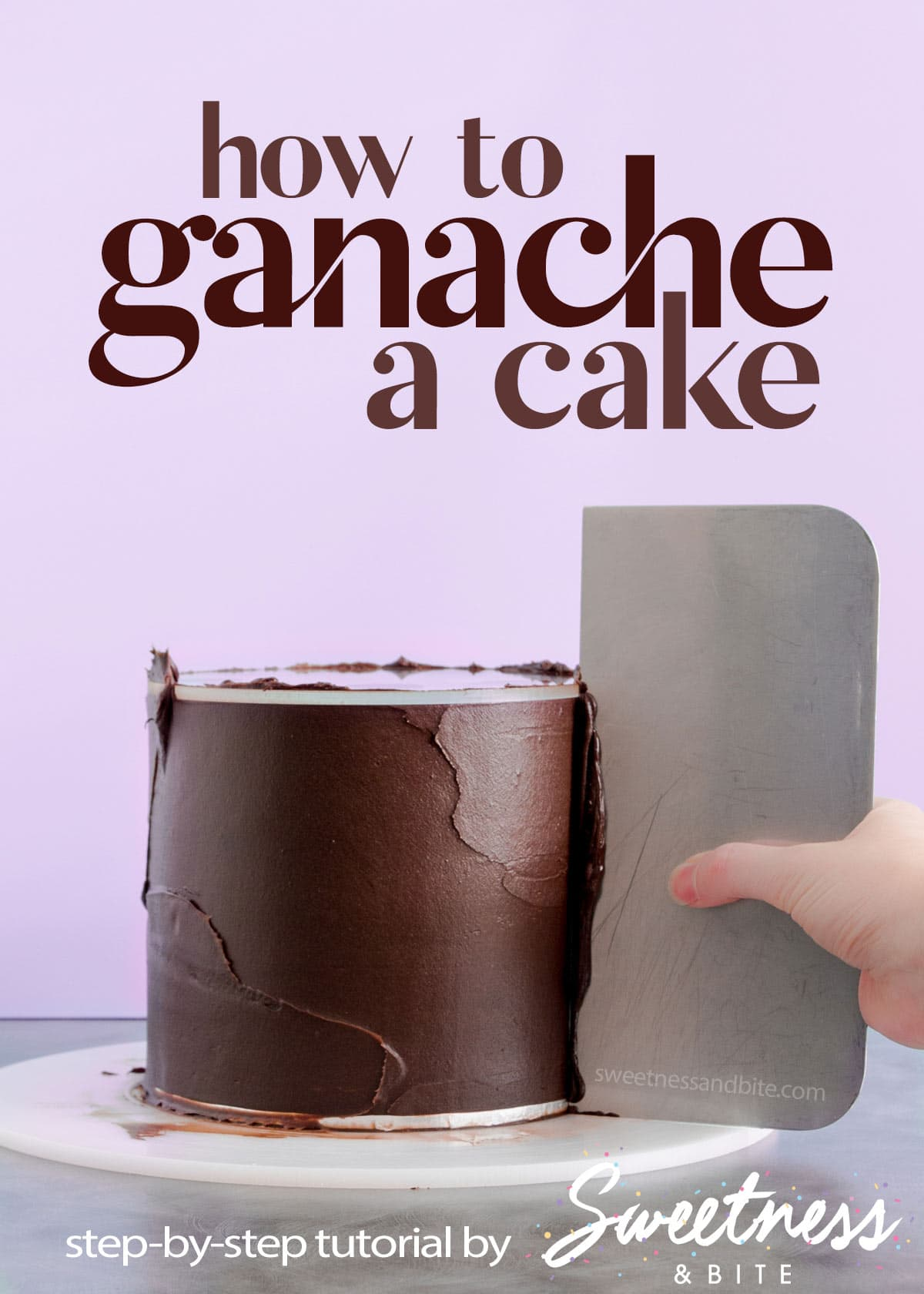 How To Ganache A Cake A Step By Step Tutorial Sweetness