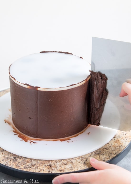 How To Ganache A Cake Tutorial