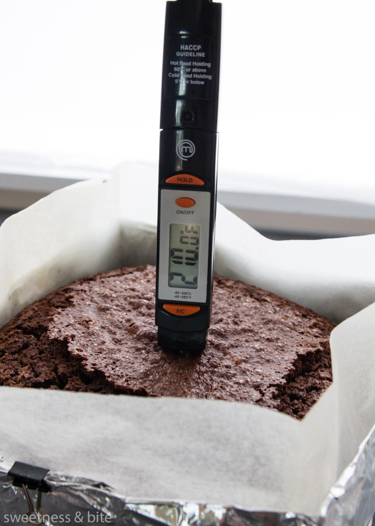 How to Check Your Cake Is Cooked Perfectly. Step 3 - The Thermometer Test.