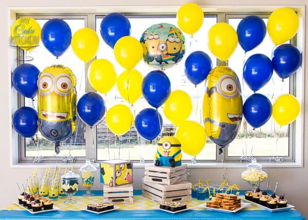 Mischievous Minion Birthday Party by My Cake Kitchen