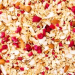 Almond, Coconut and Raspberry Muesli (aka Granola) ~ Sweetness & Bite