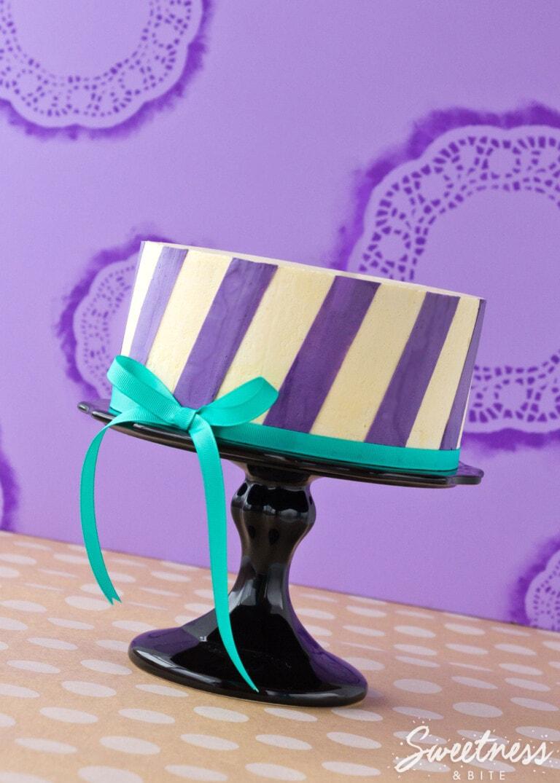 Perfect Buttercream Stripes {Part Three}