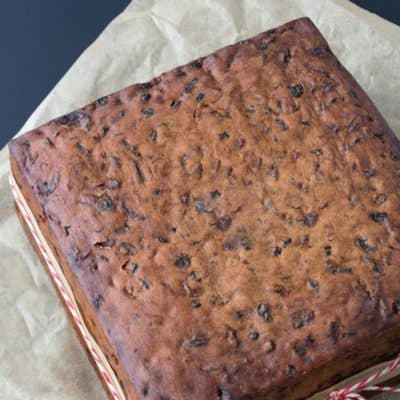Can You Ganache A Fruit Cake?