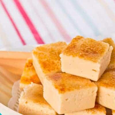 Crème Brûlée Fudge