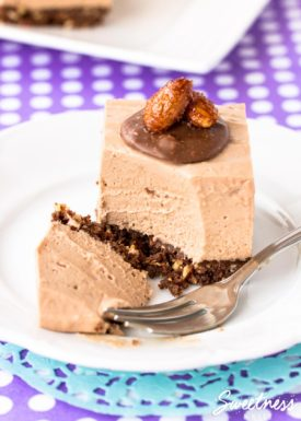 Crunchy Almond Toblerone Cheesecake ~ Sweetness & Bite