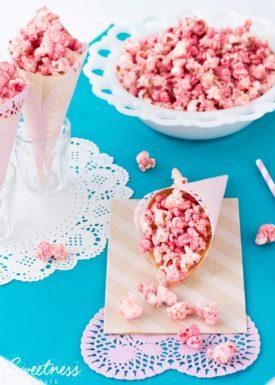 Fruity Party Popcorn ~ Sweetness & Bite