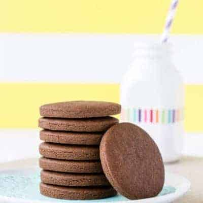 Simple Gluten Free Chocolate Cookies