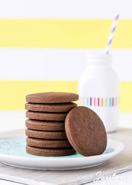 Simple Gluten Free Chocolate Cookies