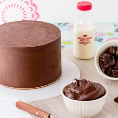 Gluten Free Dark Chocolate Mud Cake
