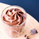 Super Easy 3 Ingredient Chocolate Mousse