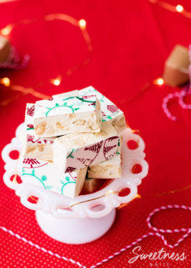 Festive Almond and Honey Nougat