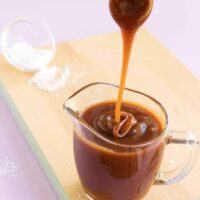 Lightly Salted Caramel Sauce
