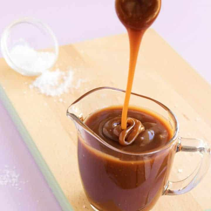 Lightly Salted Caramel Sauce Sweetness Bite