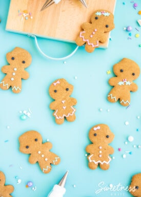 Easy Gluten Free Gingerbread Cookies ~ Sweetness & Bite