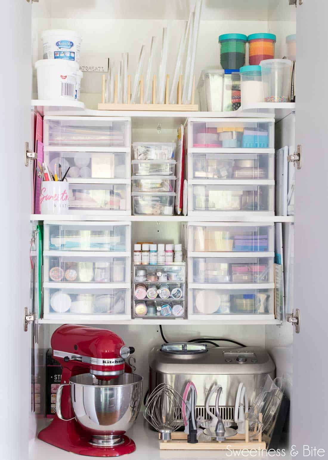 Cake Decorating Equipment Pantry