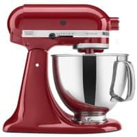KitchenAid Artisan Tilt-Head Stand Mixer, 5-Quart, Empire Red