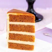 Rich Caramel Mud Cake