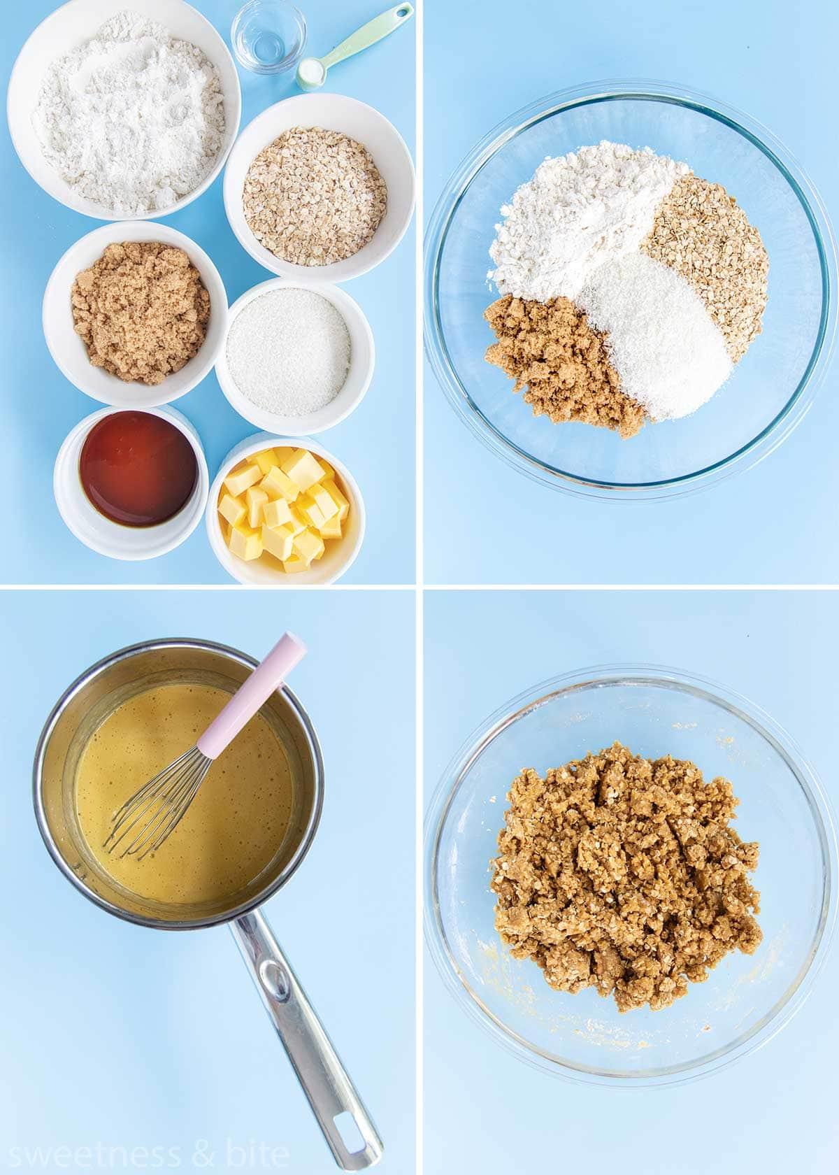 gluten free anzac biscuits ingredients
