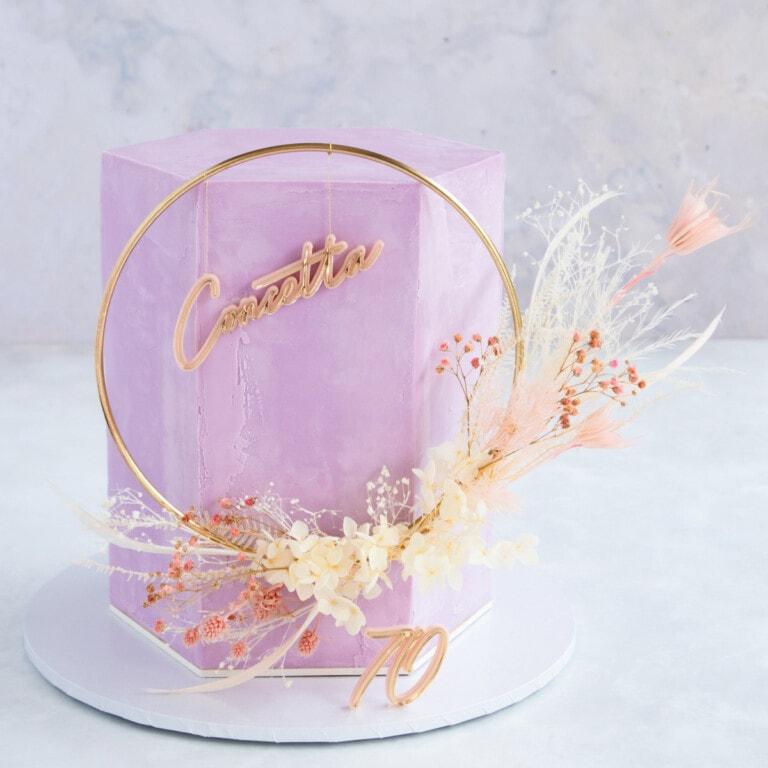 Floral Cake Topper Tutorial